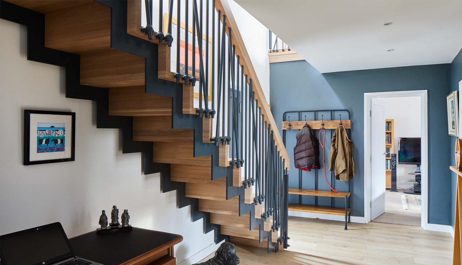 You won`t find another house with a staircase the same as yours